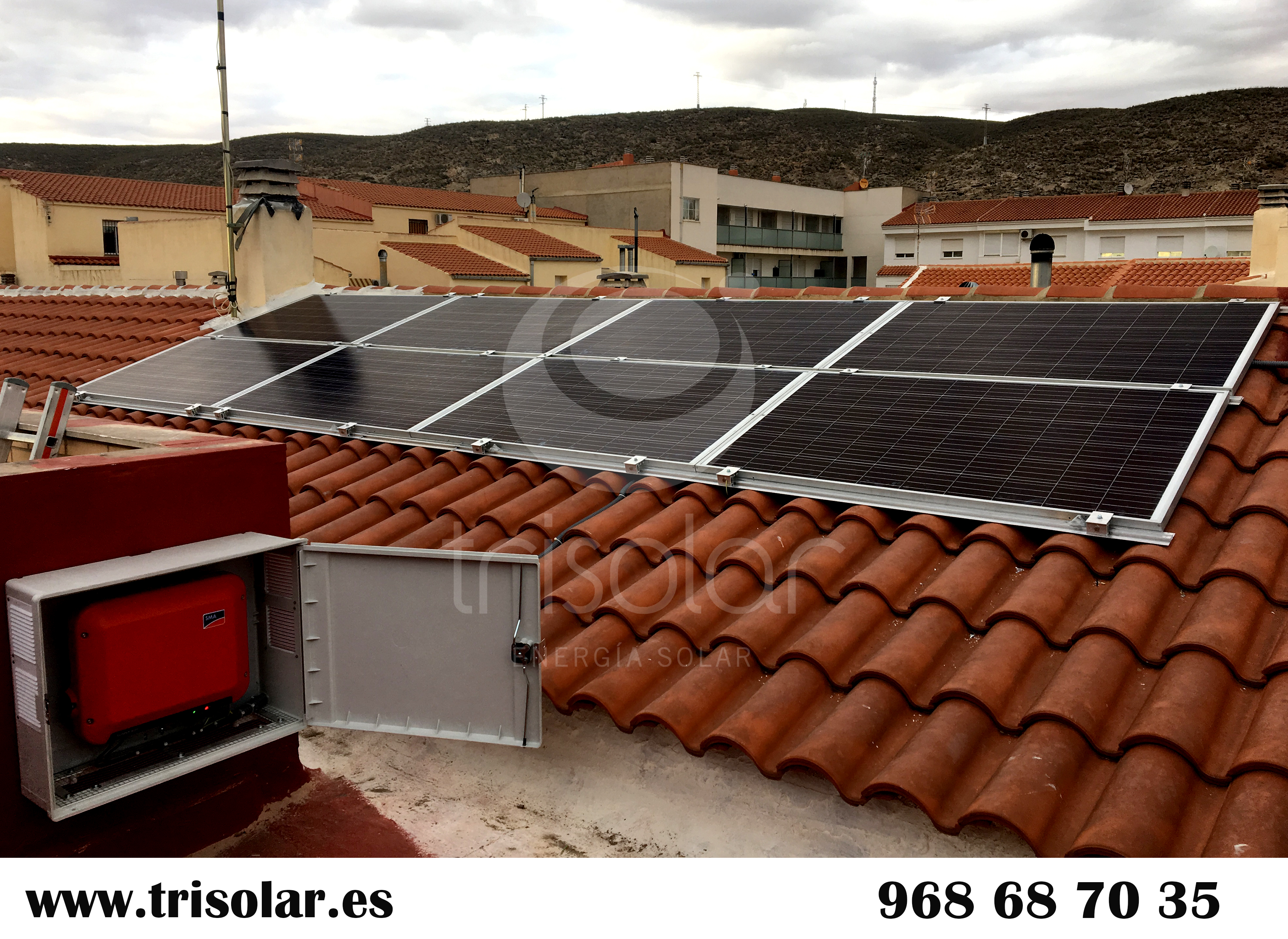 Instalacion de energía solar fotovoltaica para autoconsumo en Hellín