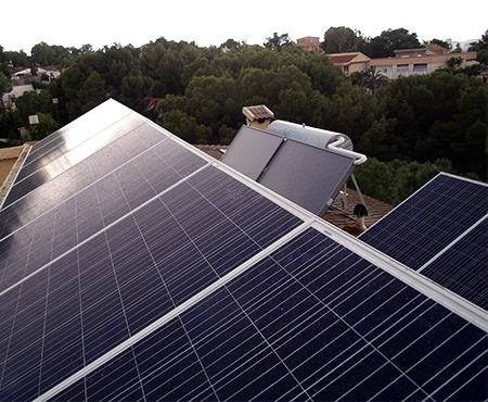 Instalacion de energia solar termica y fotovoltaica en Las Torres de Cotillas