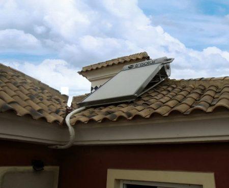 INSTALACION DE ENERGIA SOLAR TERMICA PARA ACS EN ALGORFA ALICANTE