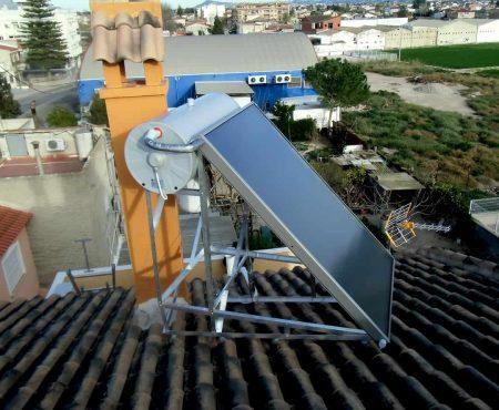 Instalación de energía solar térmica para ACS en Casillas, Murcia