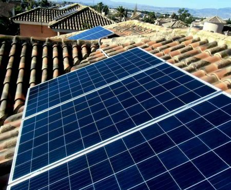 Instalacion fotovoltaica para autoconsumo en la Alcayna