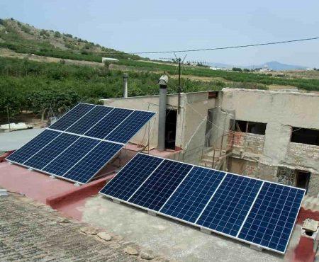 instalacion fotovoltaica para autoconsumo en santomera, murcia