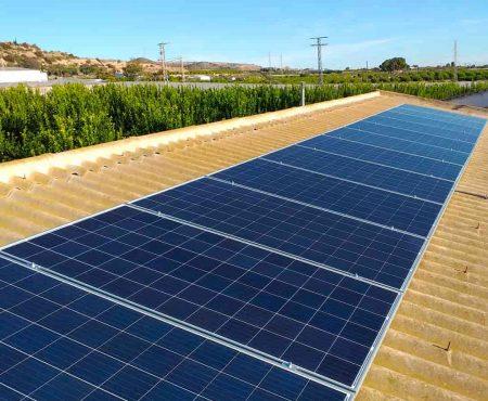 instalacion fotovoltaica en librilla