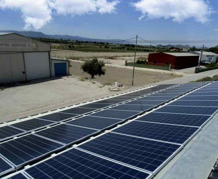 instalacion fotovoltaica para autoconsumo en nave industrial en orihuela