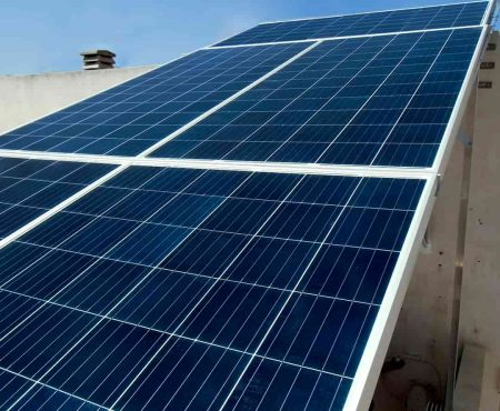 Instalacion fotovoltaica en La Unión