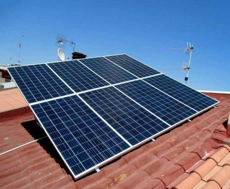 instalacion de placas solares para autoconsumo fotovoltaico en Águilas