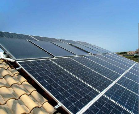 instalacion termica y fotovoltaica para autoconsumo