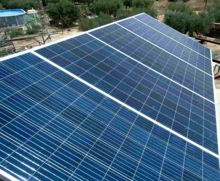 Instalacion solar fotovoltaica en alhama de murcia
