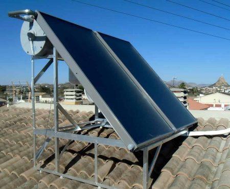 instalacion termica para agua caliente sanitaria