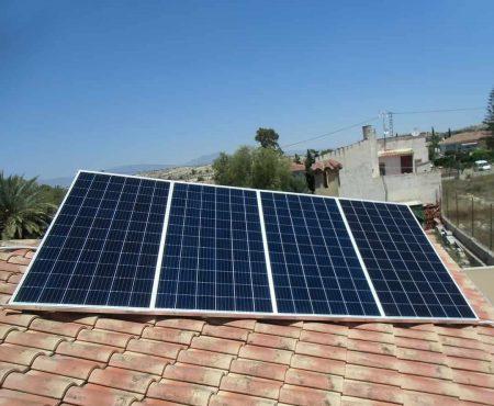 instalacon de autoconsumo fotovoltaico en molina de segura