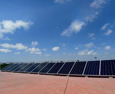 Instalacion fotovoltaica para industria