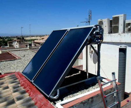 instalacion de energía solar térmica