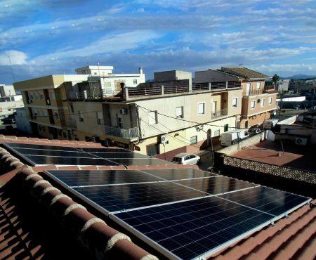 instalacion fotovoltaica en fortuna, murcia