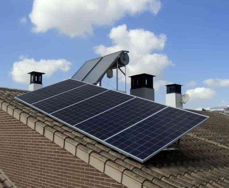 equipo termico y fotovoltaico en alcantarilla