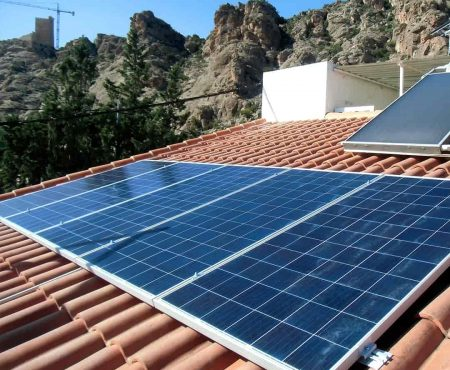 instalacion fotovoltaica en alhama de murcia