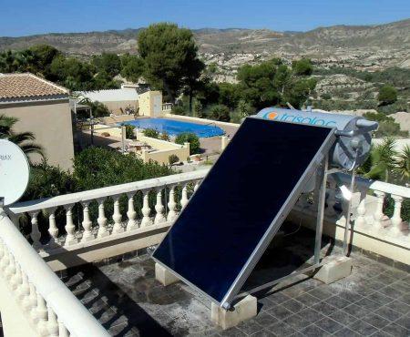 instalacion de energia solar térmica en abanilla