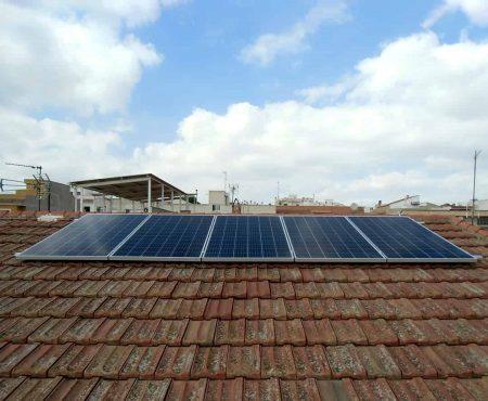 instalacion fotovoltaica de autoconsumo en molina de segura