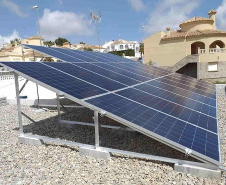 instalacion fotovoltaica en campoamor
